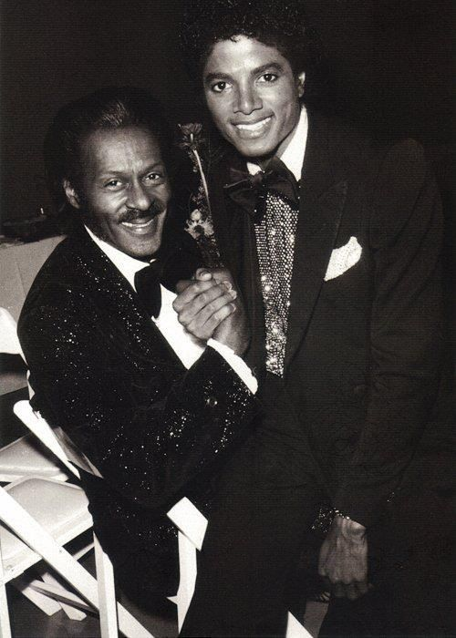 Michael Jackson and Chuck Berry.