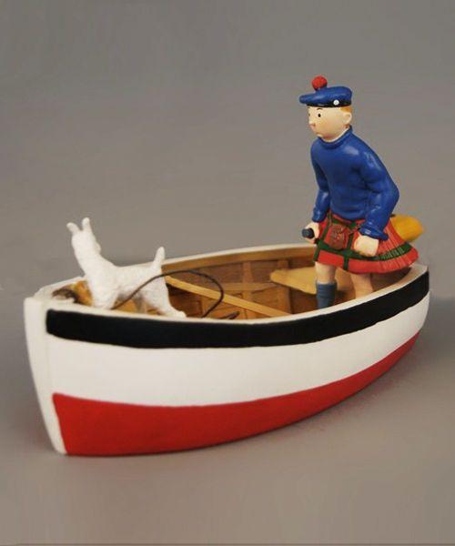 Figura Tintin Barco R$149.90