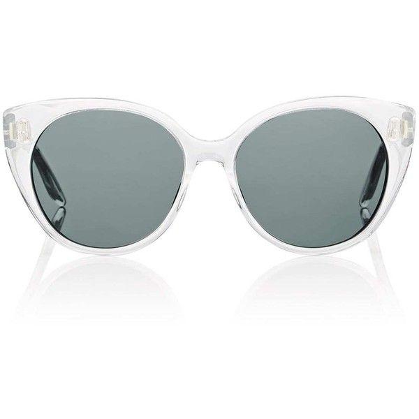 Barton Perreira Women's Kuuipo Sunglasses (1.315 BRL) ❤ liked on Polyvore featuring accessories, eyewear, sunglasses, barton perreira sunglasses, barton perreira, clear sunglasses, clear eyewear and barton perreira eyewear