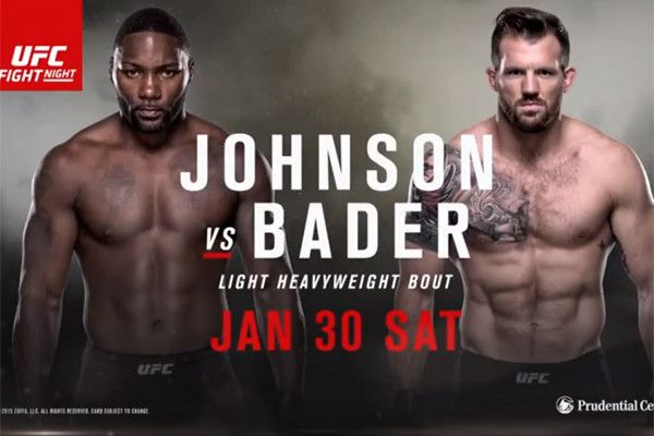 UFC: Rumble Johnson vs Darth Bader this weekend