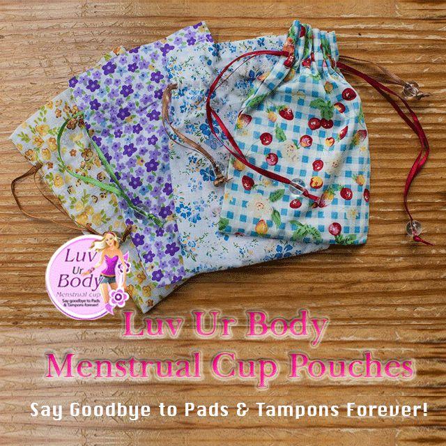 A Free Draw String Cotton Pouch With Each Menstrual Cup Purchase www.luvur-body.com/onlinestore #LuvUrBodyMenstrualCups #CoupeMenstruelle #Menstruationstasse #Coppettamestruale #CopaMenstrual #Menstruatiecup #менструальнаячаша #CopoMenstrual #menstrualnačašica #CupUp #coletormenstrual #kestoviapat #menskopp #vaidecopinho