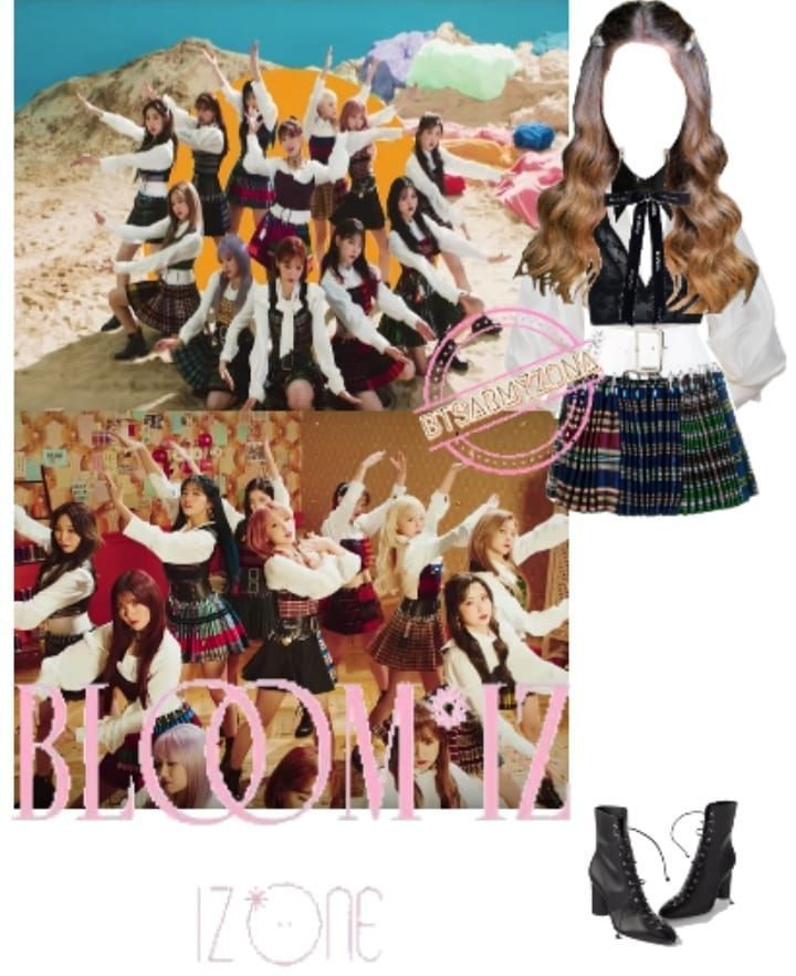 Izone Fiesta Outfit Izone Fiesta Fiesta Outfit Ulzzang Korean Girl Kpop Fashion Outfits