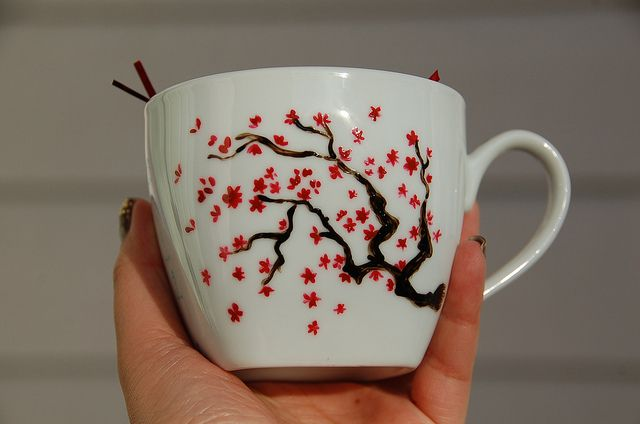 Cherry Blossom Mug | Flickr - Photo Sharing!