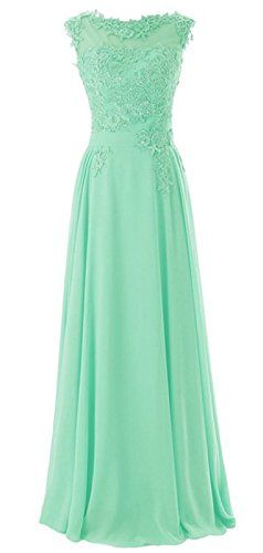 Wedding House,Lange Chiffon Abschlussball Kleider Scoop Abendkleider mit Applikationen PPC3 Perfect Wedding http://www.amazon.de/dp/B00QVC0SBM/ref=cm_sw_r_pi_dp_8Fopvb10S6F46