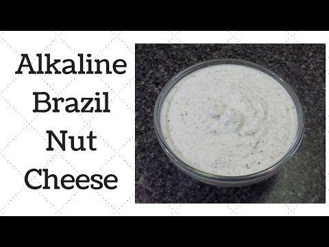 Brazil Nut Cheese Alkaline Electric Recipe - YouTube