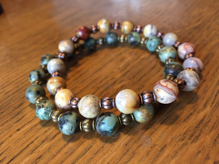 crazy lace agate, bohemian bracelet, hippie bracelet, boho bracelet, rustic jewelry, boho jewelry, charity bracelets, proceeds to charity. by TheStrungBead on Etsy https://www.etsy.com/listing/492623980/crazy-lace-agate-bohemian-bracelet