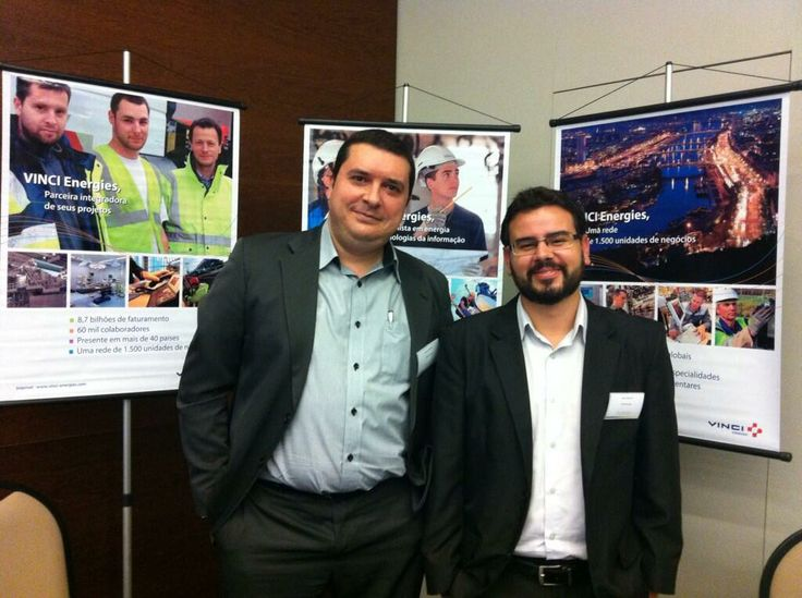 Brunno & Andre manning the VINCI Energies booth at the #CentraleCareerForum. Third year in a row!
