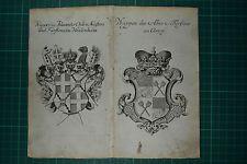 Wappen,Stammtafel Johanniter Orden Heidersheim, Fürst zu Corvey von 1746