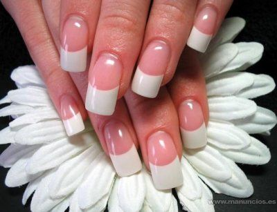 Beautiful gel nails - Uñas de gel diseño sencillo
