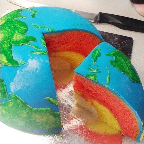 Earth cake.