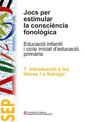 La Caseta, un lloc especial: Jocs per estimular la consciència fonològica