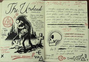 Gravity Falls Journal 3 Replica - The Undead by leoflynn
