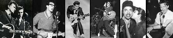 1950's doo-wop l Stars   1950's Rock Music stars: Everly Brothers, Buddy Holly, Chuck Berry ...