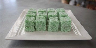 Try this Lime Lamingtons recipe by Chef Bojan.This recipe is from the show The Great Australian Bake Off.