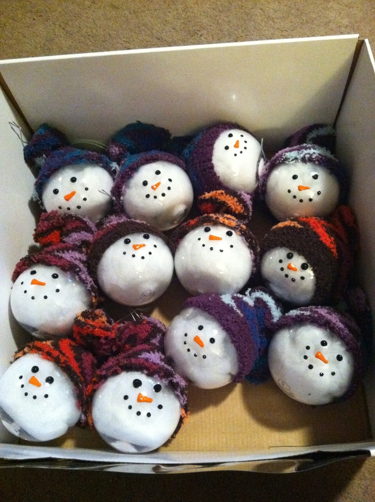 17 Best images about Home made snowmen on Pinterest ...