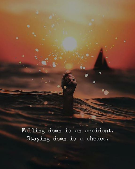 Falling Down Is An Accident Inspiration Pinterest Quotes