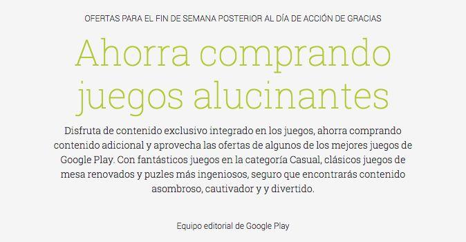 Google Play también se apunta a las ofertas incluyendo descuentos en las compras In-App