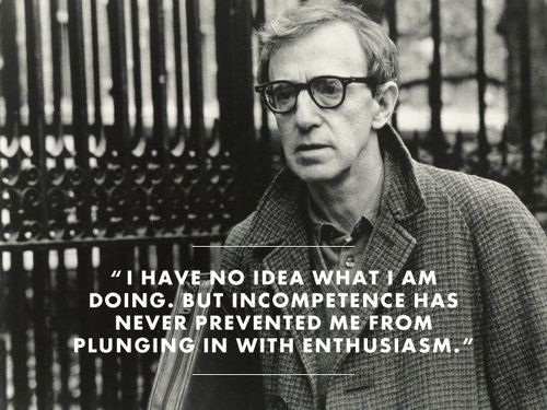 i feel like woody allen Photo: everett collection/sony picture classics the woody allen  and  increasingly, it's starting to feel like a topic you have to go out of your.