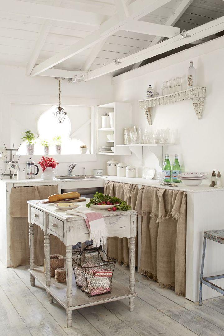 Foto Cucine Shabby Chic.Cucina In Muratura In Stile Shabby Chic Idee Per La Casa
