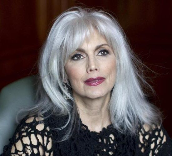 Emmylou Harris, 67  Has always been my Idol; Now because She's STILL beautiful & Unique!!!
