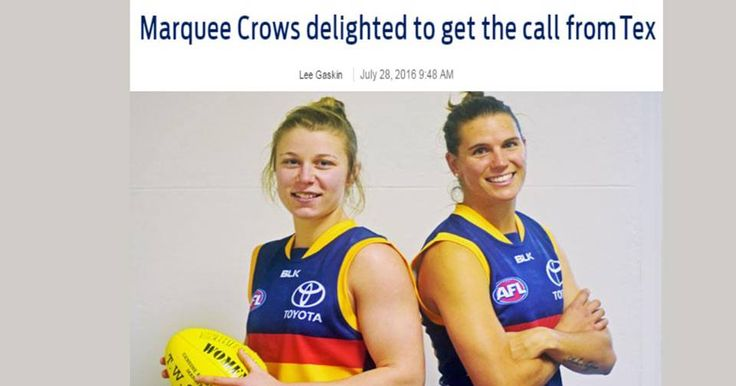 Marquee Crows delighted to get the call from Tex : http://bit.ly/2a1pXwV