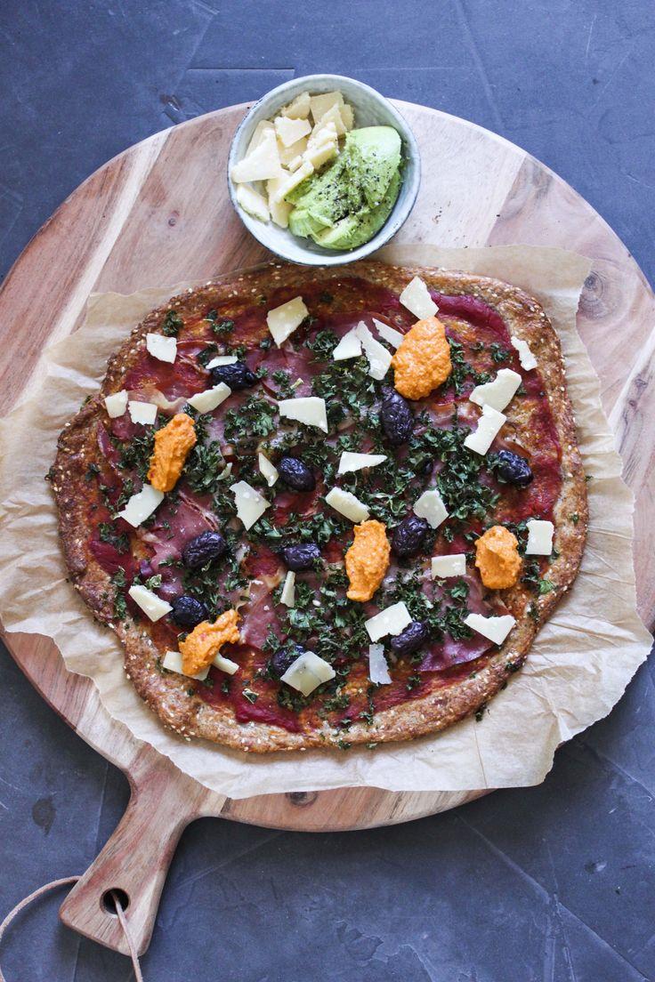 Glutenfri stromboli pizza | beetrootbakery blog