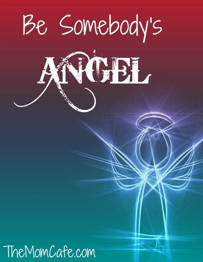 How can you be somebody's angel? I believe we all need to show up in people's lives and care for their needs. May these words inspire you to love deeply and live purposefully.