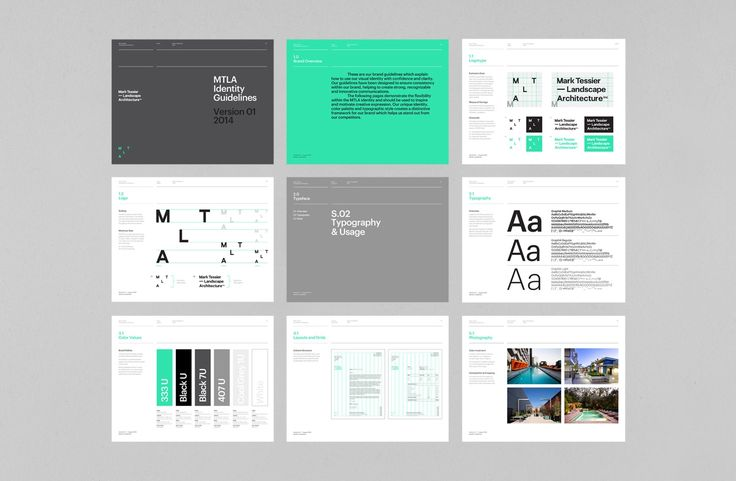 MTLA Identity Guidelines x Mark Bloom aka Mash Creative