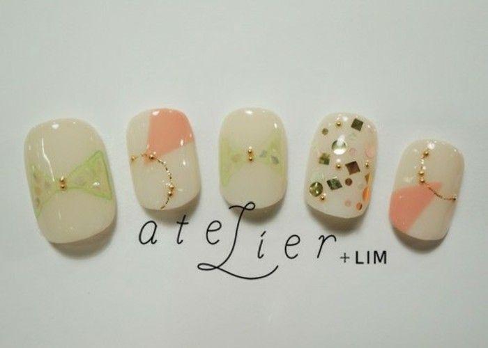 ワクワク&ドキドキのデザインにきゅん♡ネイルサロン『LIM』のブライダルネイル⭐︎のトップ画像
