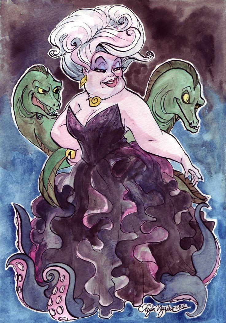 Ursula by ~TaijaVigilia on deviantART