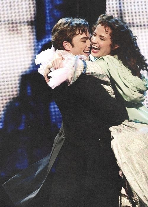 The phantom of the opera 25 anniversary. Hadley Fraser. Sierra boggess. All I ask of you