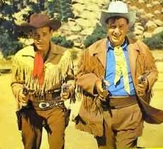 James Butler Hickok (Guy Madison) Jingles B. Jones (Andy Devine)  The Adventures of Wild Bill Hickok was a western action series about a U.S. Marshall and his 300 pound sidekick who brought bad guys to justice in the old west.