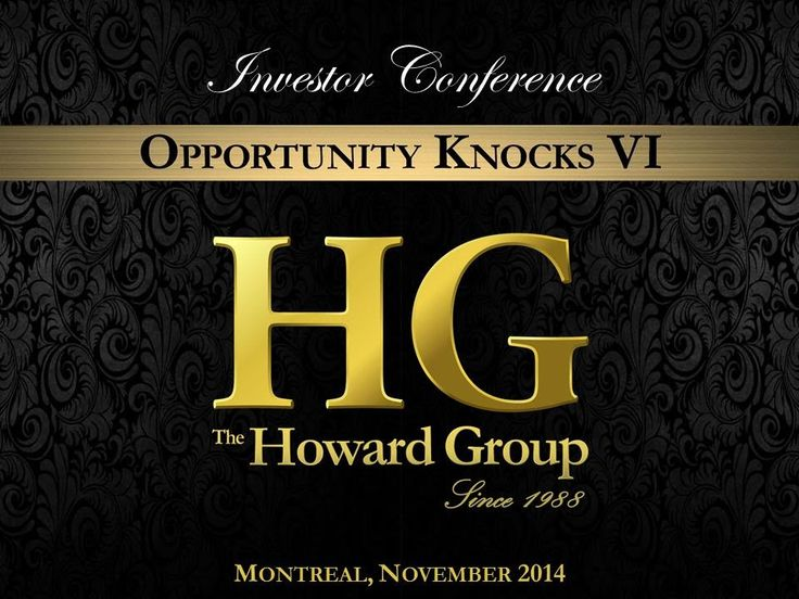 Opportunity Knocks VI Investor Conference 2014 - Grant Howard Introduction