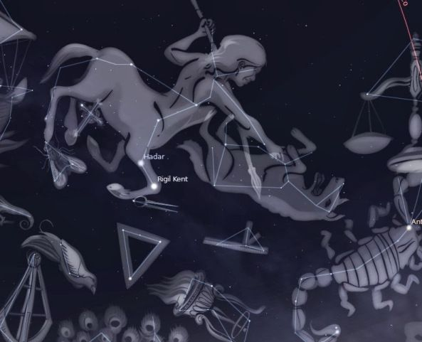 UMA LINDA CIGANA DO ORIENTE: CONHECENDO AS CONSTELAÇÕES-Constelação do Centauro...
