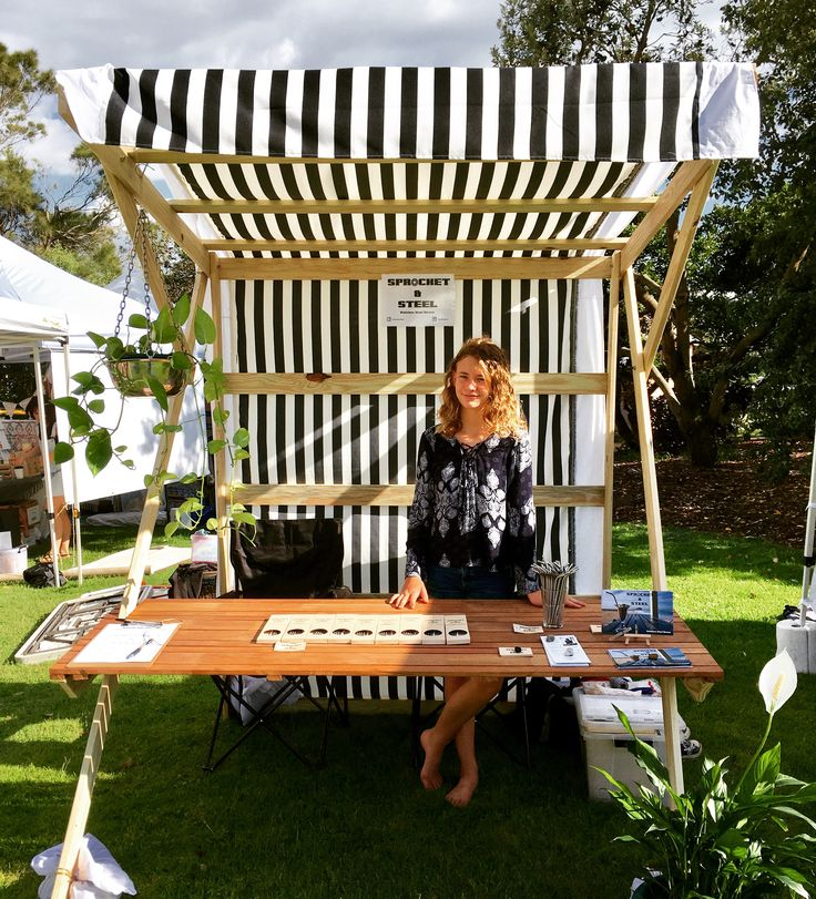 Pop Up Market Stall at The Olive Tree Market Newcastle https://sprocketandsteel.com.au/products/ http://www.theolivetreemarket.com.au/