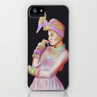 Afro Beauty iPhone & iPod Case by Daniac Design - $35.00
