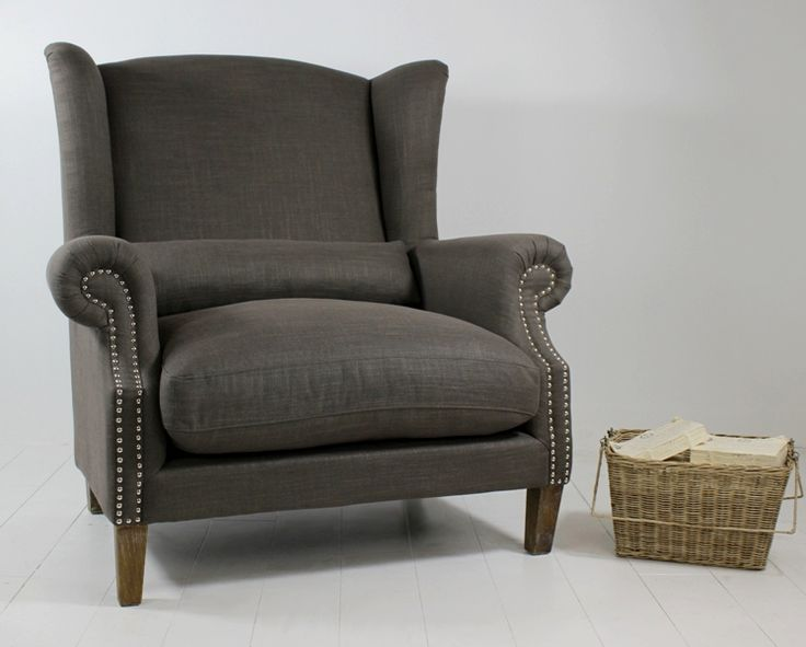 Celeste II Love chair Charcoal from Villa Maison #americanstyle #design #interior