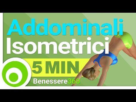 Addominali Isometrici - Pancia Piatta con 5 Minuti di Esercizi Giornalieri - YouTube