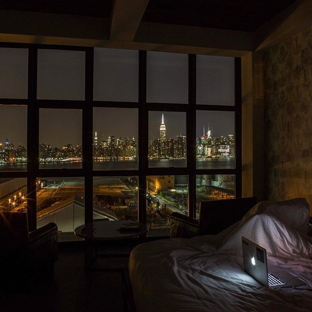 Night Time My Time From New York Last Year Dansoderstrom