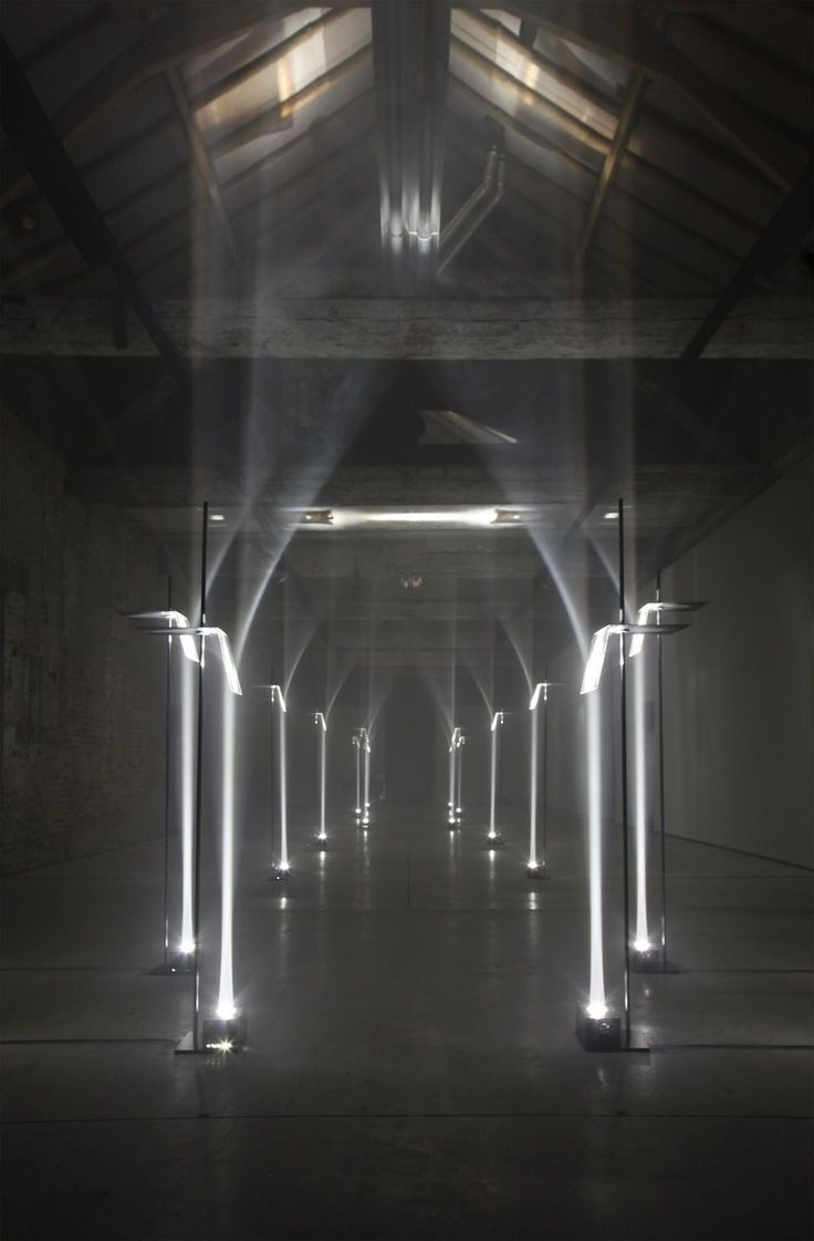Arcades by Troika | Creating architecture with light