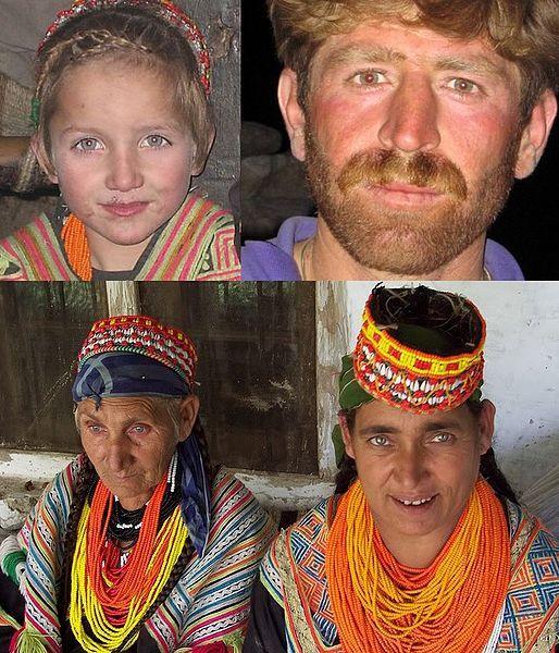 The Kalash people of Pakistan practice Indo-European paganism and speak an ancient Indo-Aryan language