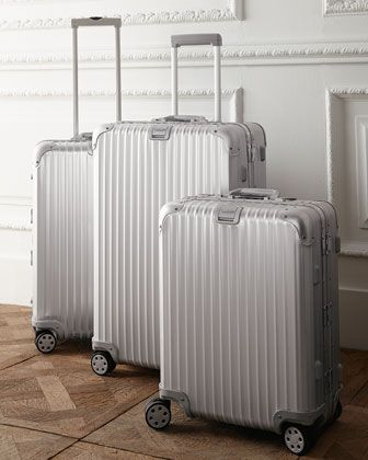 """Topas"" Collection Luggage by Rimowa North America at Neiman Marcus."