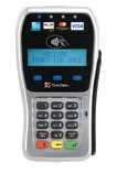 The First Data™ FD35 PIN Pad  This comprehensive, consumer-facing  device not only accepts PIN-based debit transactions and swipes  traditional payment cards, it is enabled to accept chip-and-PIN cards (aka EMV), which allow customers to  initiate and process their own transactions without relinquishing  control of their cards. It also enables contactless transactions, as well as mobile phone payments that include  the ability for merchants to drive loyalty and repeat business and specials.