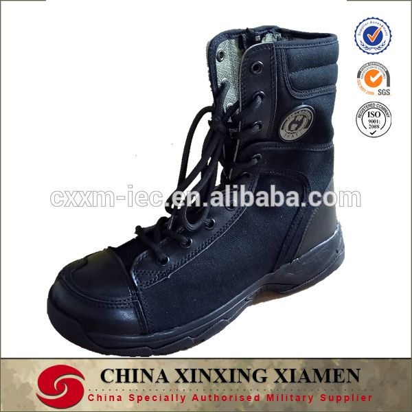 Military Tactical Swat boots Leather ranger