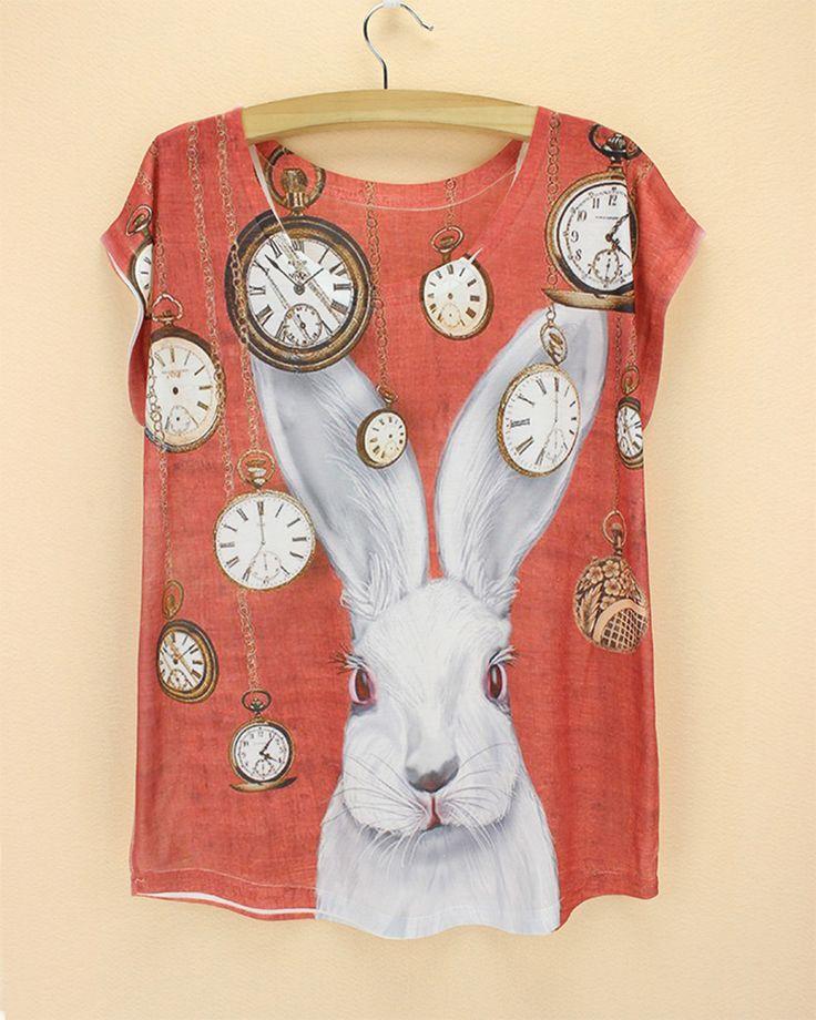 Resultado de imagen para rabbit t-shirt