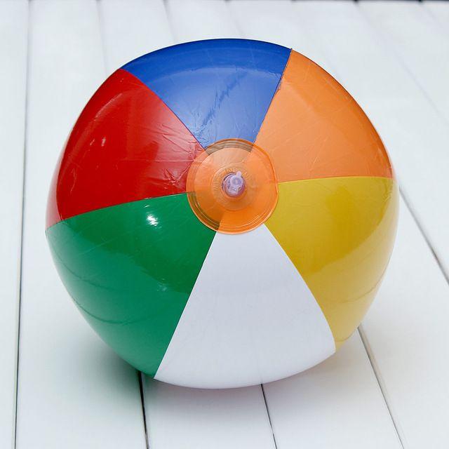 Heißer Verkauf Gummi Aufblasbare Kugel Kinder Pool Schwimmen Splash Spielen Party Wasser Spiel Spielzeug Aufblasbare Wasserball 23 cm