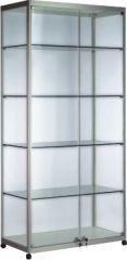Cam Vitrin Uzun-Geniş, Cam vitrin, Ürün Standı Raflı,ürün standı,ürün stand,ürün standları,ürün teşhir standı, teşhir standı, fuar stand