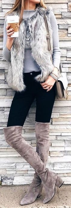 Winter chic.