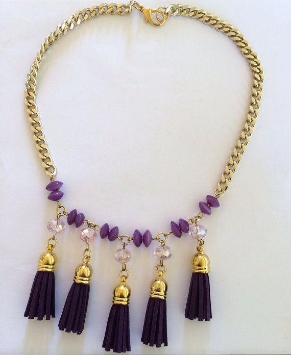 "Handmade Statement Necklace, Style, Fashion, Jewelry, Women, ""Greek Style"" on Etsy, 20,00€"