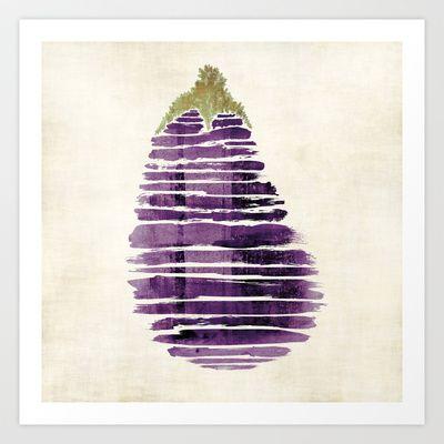 Eggplant Art Print by Robert Singh - $33.28